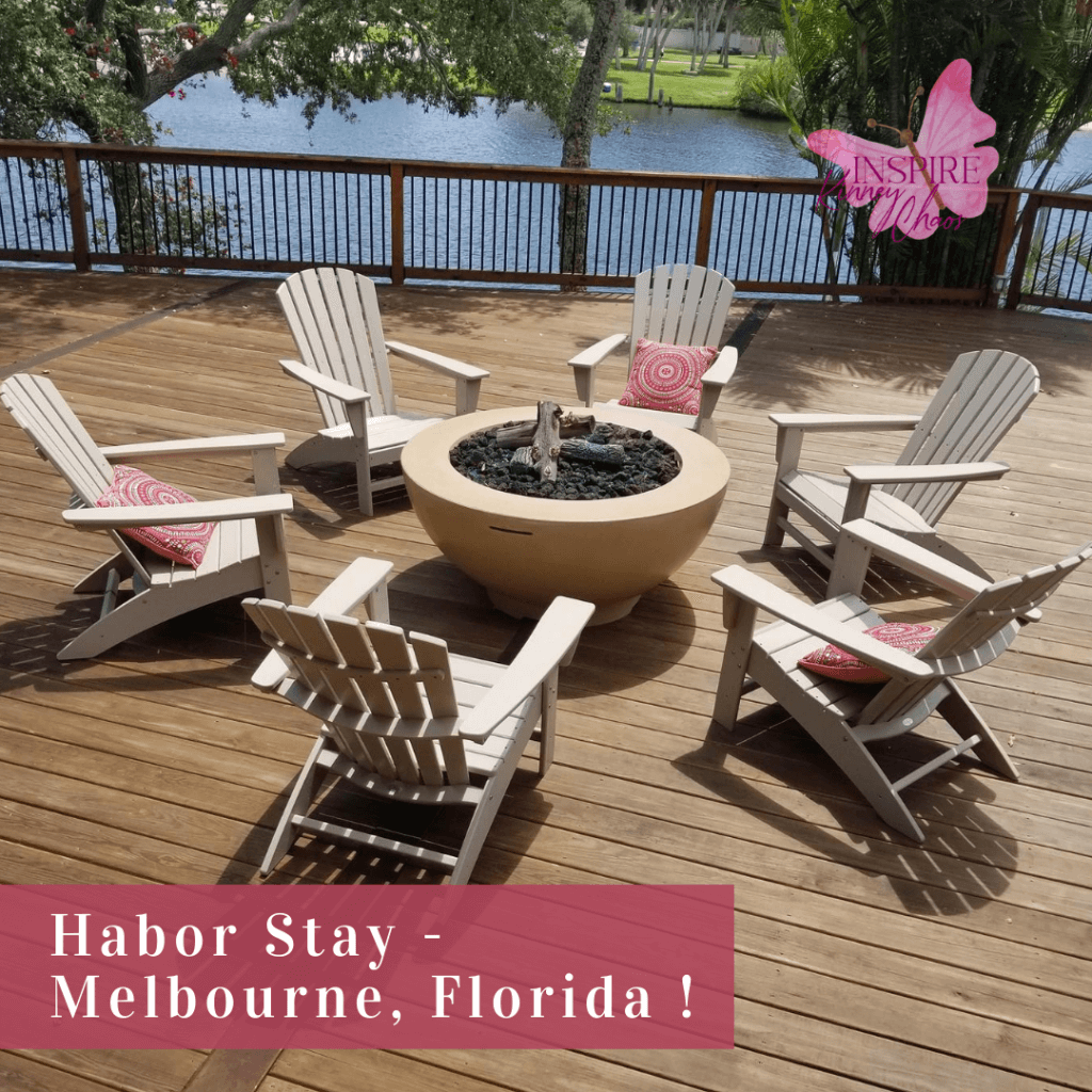 Harbor Stay in Melbourne Florida is the perfect place to host a retreat, wedding, or corporate team building event.