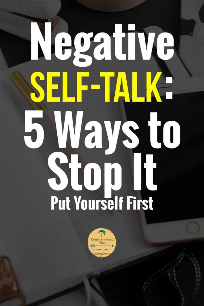 Negative Self-talk and 5 ways you can stop it today. Learn coping strategies to live a more perfect life. #personaldevelopment #negative #voices #selftalk