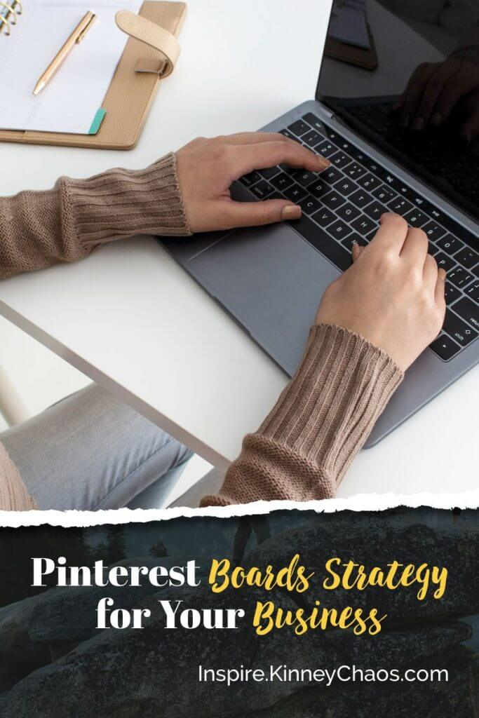 Creating a solid Pinterest Board Strategy for your business will help you be successful in your business. Find some strategies to help you easily create new boards.
