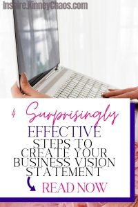 If you are an individual just starting in Direct Sales or a small business owner you need to have a business vision statement. The vision statement describes what the company wants to be once it's completed its mission. For small business owners, this is often a culmination of why we are providing the services we are and what problems we are solving for our customers.