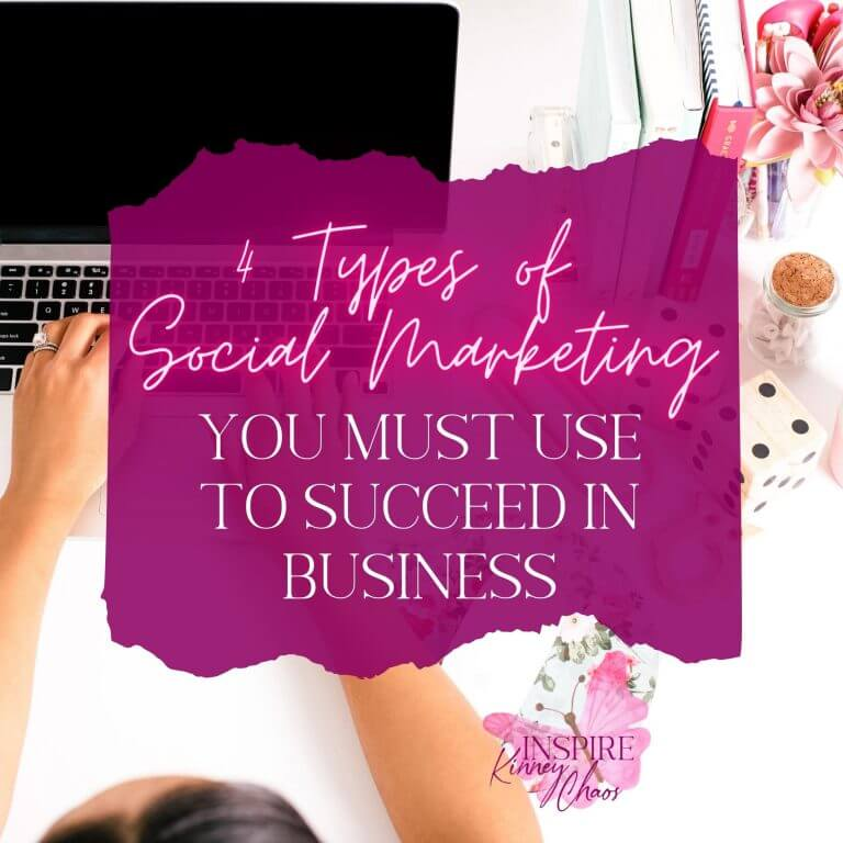 4 Types of Social Marketing You Must Use to Succeed in Business