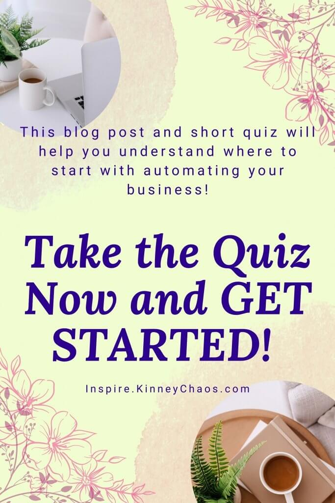 Take our Small Business Automation Quiz. It is no secret that small business owners are time-strapped. With so many different responsibilities, it can be hard to find the time to automate your business. You may have heard of certain tools and platforms that offer automation for free or at a low cost, but how do you know which one(s) will work for you? This blog post and short quiz will help you understand where to start with automating your business!