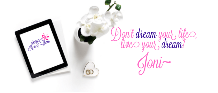 Don't dream your life, live your dream! Signature graphic!
