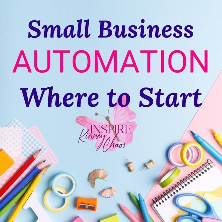 Small Business Automation – Where to Start