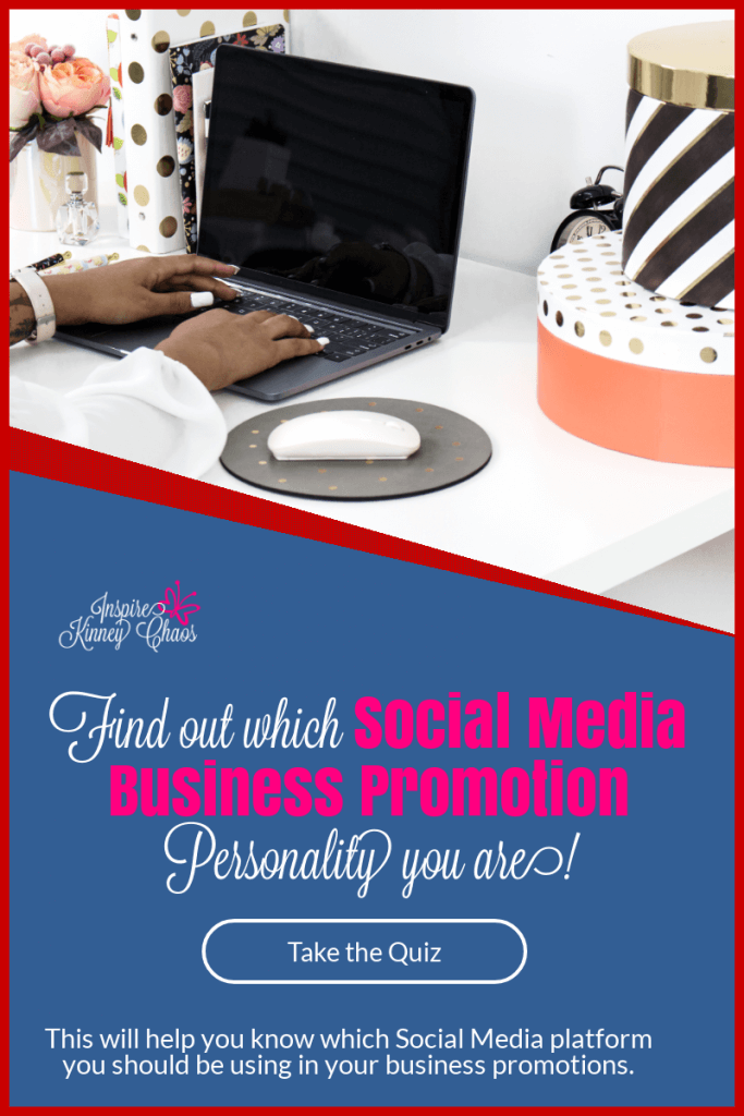 Take our Quiz to find out which Social media Business Personality fits you best. Use this to promote your business while enjoying your Social media time!