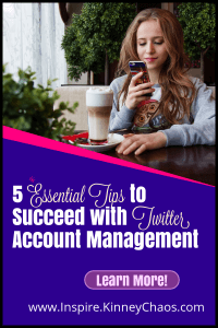 Twitter Account Management is an important part of any small business social media strategy. Here are 5 tips to help you stand out from everyone else.