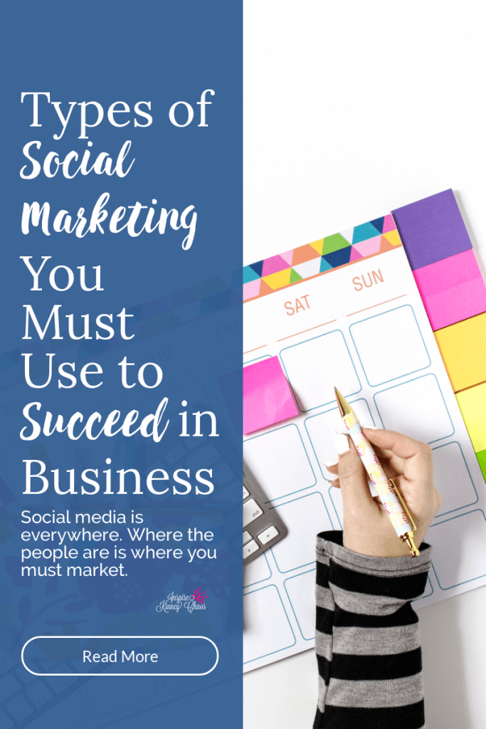 Types of Social Marketing you must use to succeed in business.