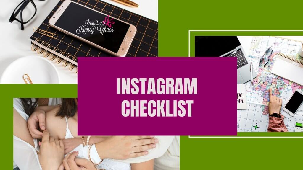 Want to Maximize Instagram? Get your FREE worksheets and checklists to help you!