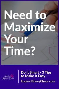 Maximize your time to help increase your productivity, maintain control, and encourage you to be in the driver's seat by using some time management skills.