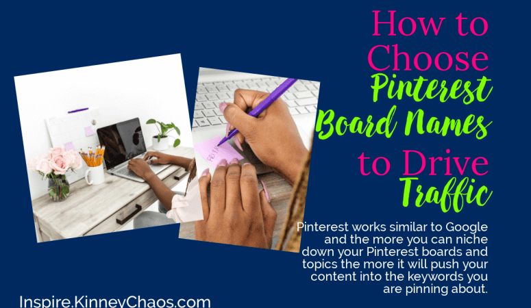 How to choose Pinterest Board Names to Drive Traffic