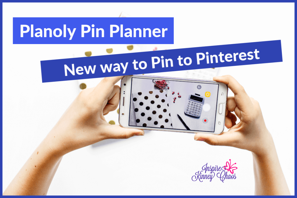 Planoly Pin Planner - the new way to pin to Pinterest.