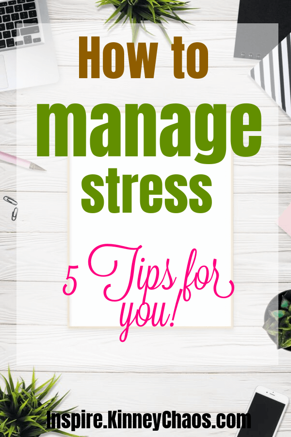 How to Manage Stress - 5 Tips For You 5