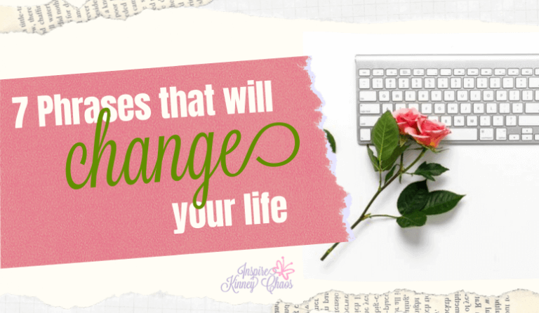 7 Phrases that will Change Your Life