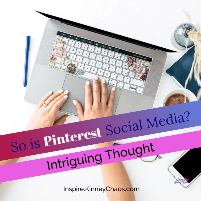 Intriguing Thought: So is Pinterest Social Media?