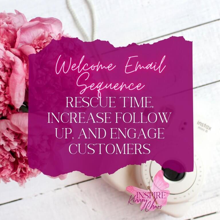 Welcome Email Sequence: Rescue Time, Increase Follow Up, and Engage Customers