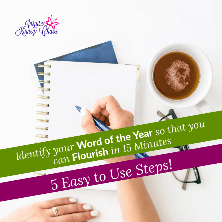 Identify your Word of the Year so that you can Flourish in 15 Minutes