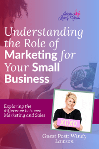 How do you do all the things needed to make a successful business? Learn our tips, and what is the difference between marketing and sales?