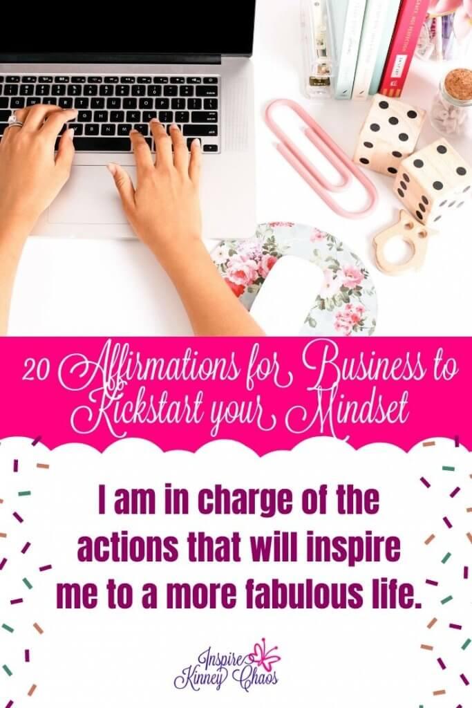 20 Affirmations for Business to Kickstart your Mindset 7