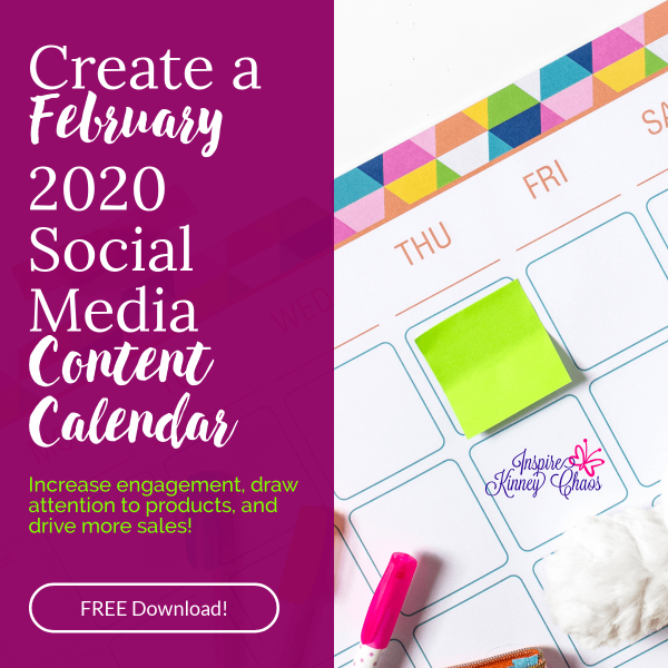 Do you spend too much time coming up with Social Media content? Do you just wish someone get it all done for you? Get your 2020 Social Media Content Calendar
