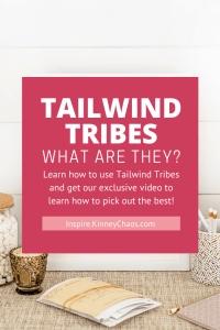 Learn how to use Tailwind Tribes and get our exclusive video to learn how to pick out the best!
