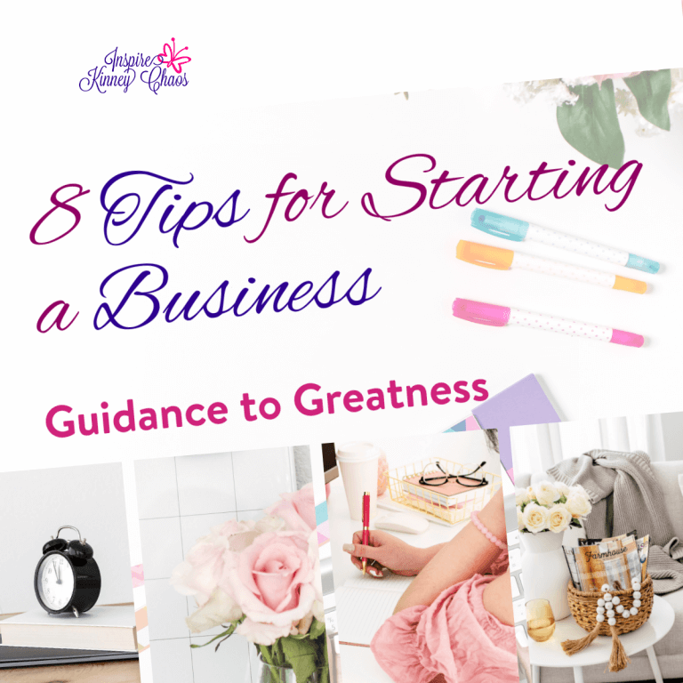 8 Tips for Starting a Business – Guidance to Greatness