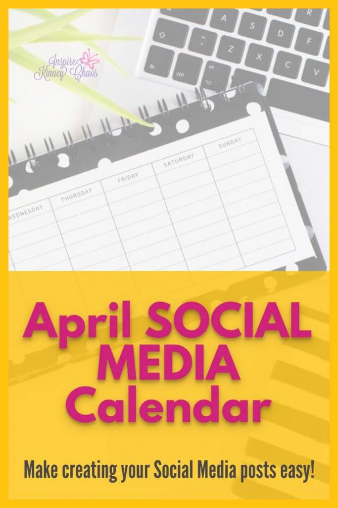 Get your Free April Content Calendar and Trello Template! Make creating content easy with our prompts. Social Media content Calendars are perfect for creating easy ways to save time.