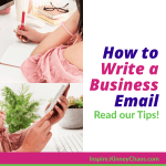 "Writing an email to someone doesn't have to be overly complicated, yet I get asked all the time ""How do I write an Email for Business?"". In response to this, I have put together some pointers. Hopefully, this article will give you some tips on how to write a business email and be successful in your message."