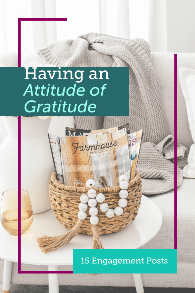 When we listen to the negativity in our lives we can't see past it to the things we are privileged enough to enjoy. Finding and having an attitude of gratitude does not have to be as difficult as we make it. Appreciation is at the core of gratitude, and you can learn to appreciate everything.
