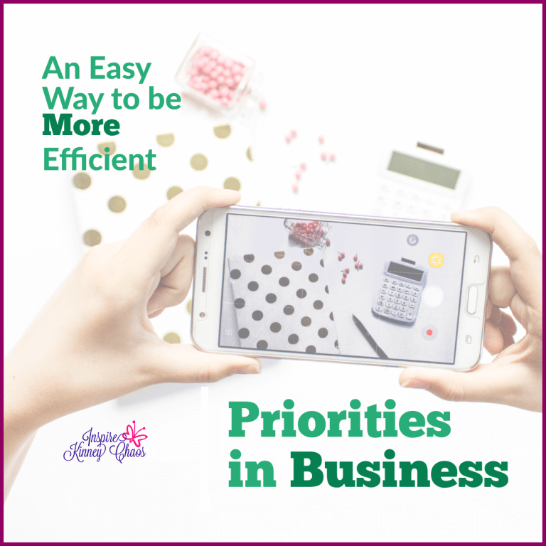 Priorities in Business: An Easy Way to be More Efficient