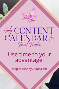 Imagine sitting down one evening next month with your family, watching tv, sipping on a slushie. This can happen! Get a just on your social media posts with our content calendar for July.