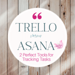 Two systems I see frequently talked about are Trello and Asana. So let's compare them to each other and decide which can help us most: Trello versus Asana.