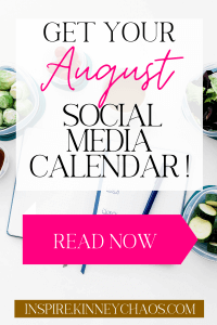Using this August Social Media calendar just might be life-changing. Don't just take it from me... see what others have had to say!