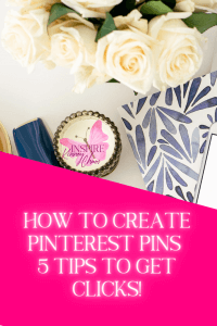 When running a business it's important you are marketing your business. For most of us that means creating and posting Pinterest Pins. Read more to find out how to create Pinterest pins people will click on.