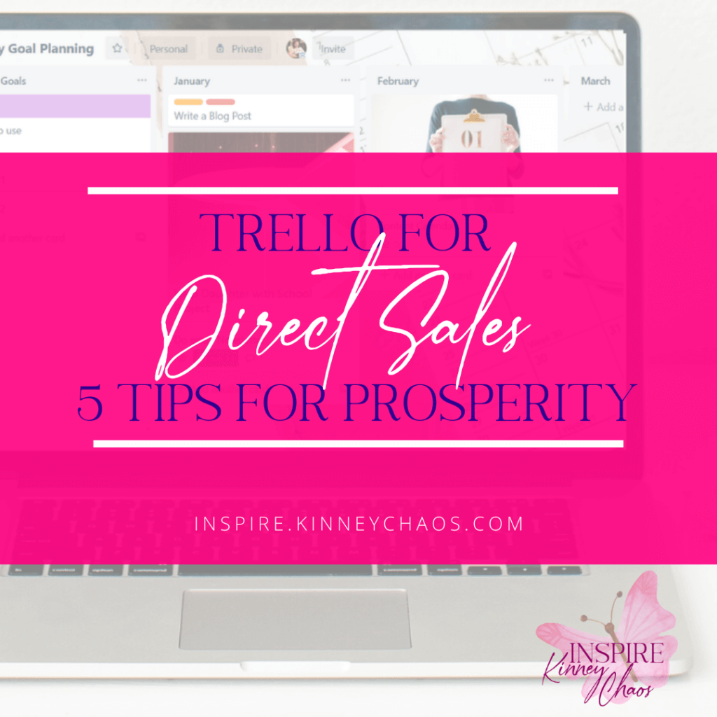 Are you selling for a Direct Sales company? If you are, this article was created with you in mind. Trello is a FREE tool, and we are going to cover some of the best trips to using Trello for direct sales.