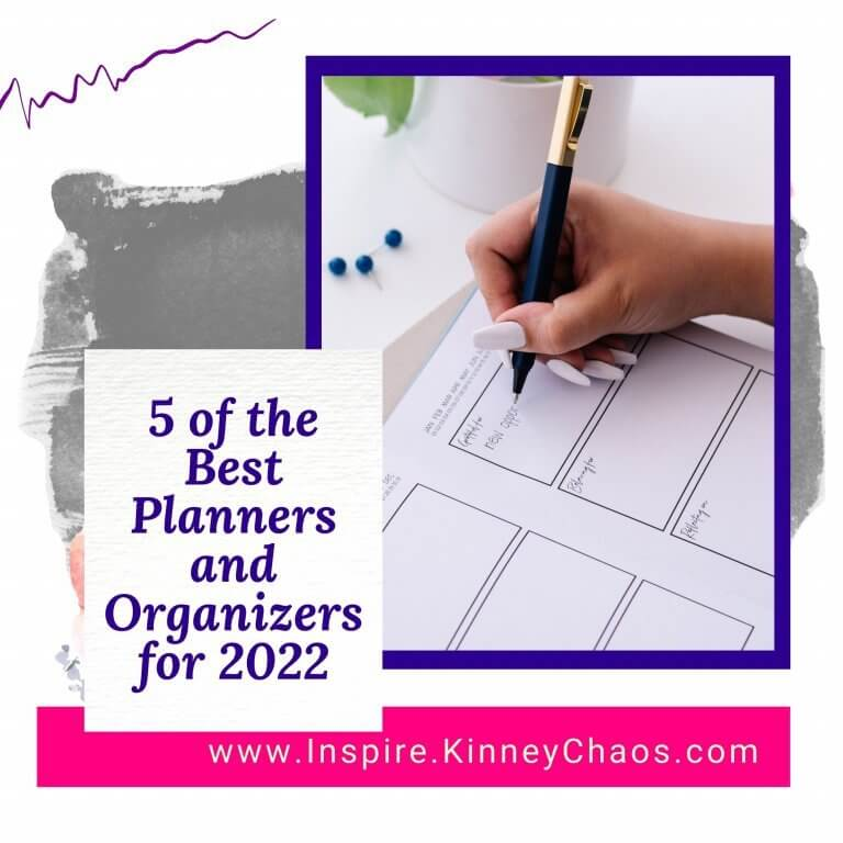 5 of the Best Planners and Organizers for 2022