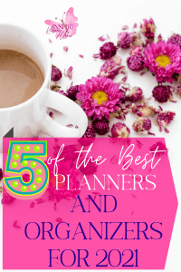 Come and take a look at the best planners and organizers for 2021. You are sure to get organized, feel productive, and live with your best foot forward. To do that you need a planning system of some sort.