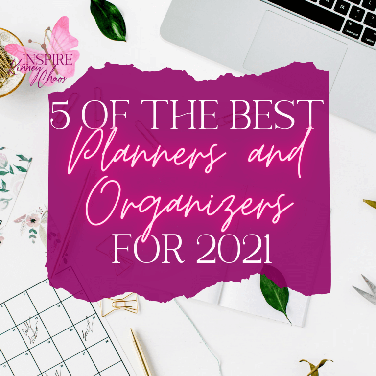 5 of the Best Planners and Organizers for 2021