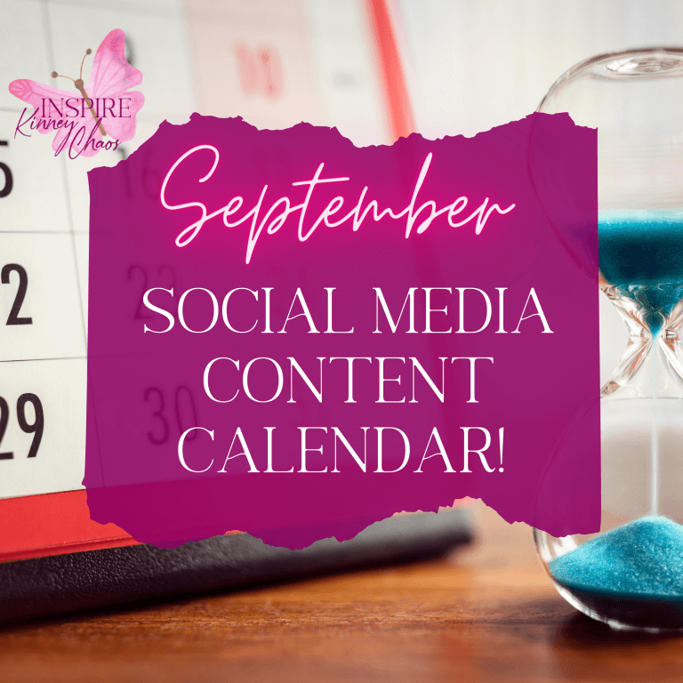The Best September Content Calendar – Alarmingly Easy to Use – Get Organized and Save Time