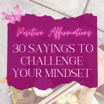 One of the things I believe in is making sure you purposely change your inner dialog. After years of struggling with this myself, I found the fastest way to accomplish this change is by using a positive affirmations list.