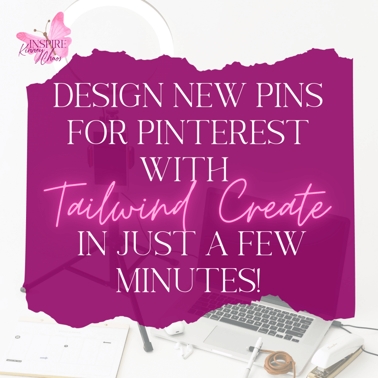 Design New Pins for Pinterest with Tailwind Create in just a few minutes!