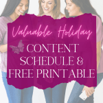 When you start out in business one of the hardest things to wrap your mind around is planning early for seasonal events or taking into account holiday business topics. This is especially important if you have a blog associated with your business. That is why I came up with this basic holiday content schedule.