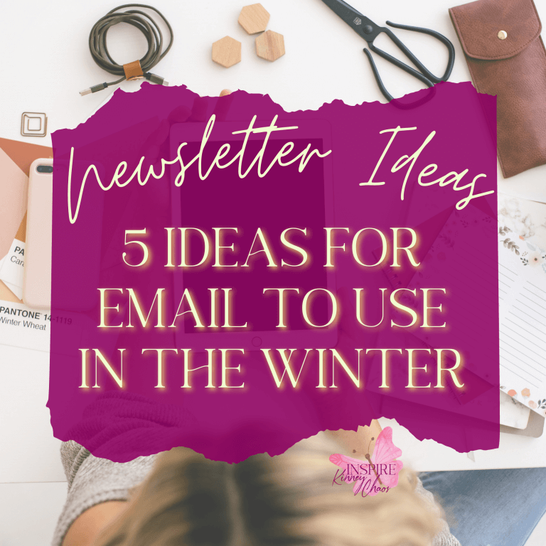 Newsletter Ideas: 5 Ideas for Email to Use in the Winter