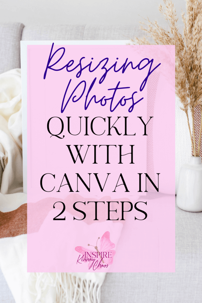 Resizing photos and graphics to suit your needs is an easy and quick process when using Canva. take a look at how you can make your images any size.