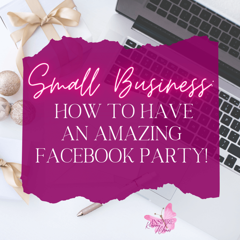 Small Business: 5 Tips on How to have an AMAZING Facebook Party!