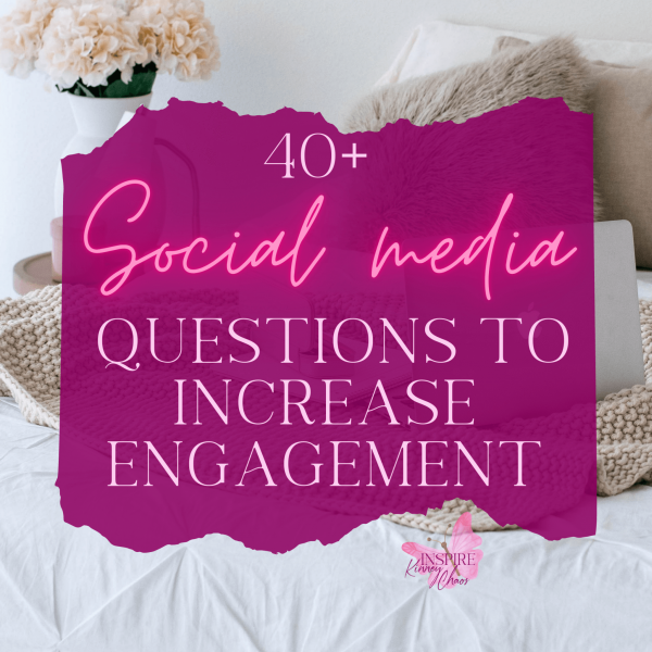 Keep reading to get some Social Media questions to increase engagement in your groups and pages. Use these ideas for Facebook Engagement Posts and Party ideas.