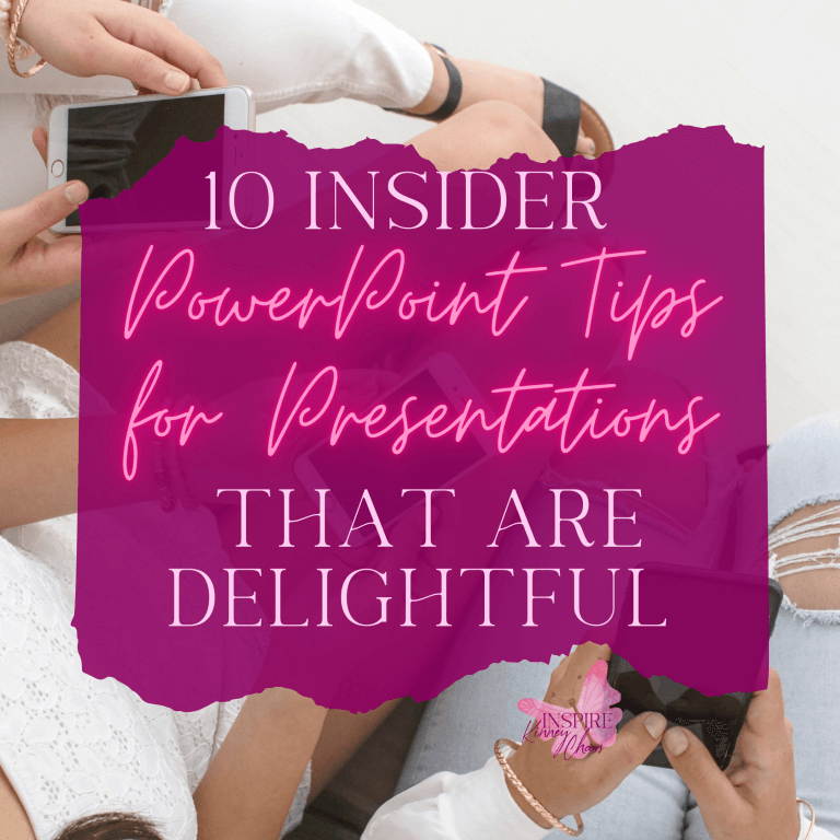 10 Insider PowerPoint Tips for Presentations That Are Delightful