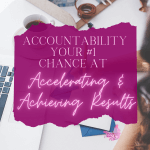 Accountability, by definition, is ensuring you take responsibility for the things you need to get done. You see, our brains let us convince ourselves that there are other things that we need to do instead of the things we don't want to do.