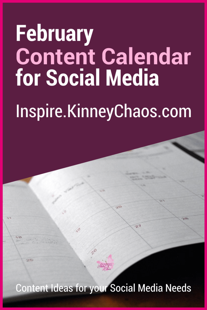 Do you spend too much time coming up with Social Media content? Do you wish someone could help you get it all done? That is exactly why I created the February Content Calendar for Social Media.