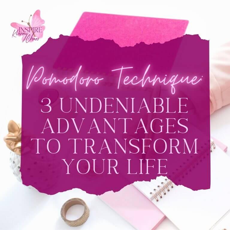 Pomodoro Technique: 3 Undeniable Advantages to Transform your life