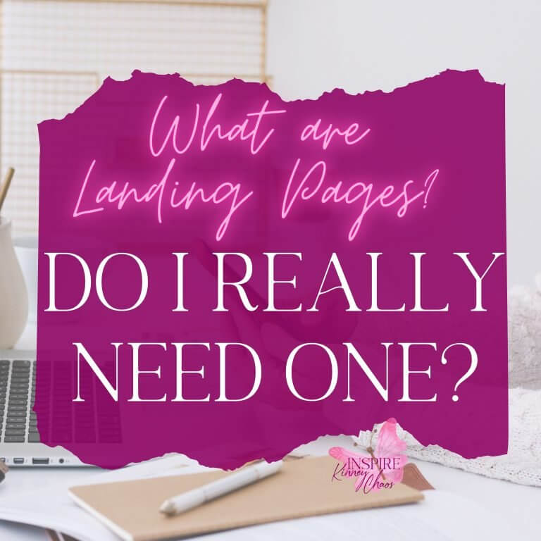 What are Landing Pages? Do I Really Need One?